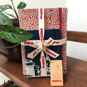 Poppy Note Book set / diary 📔/ stationary
